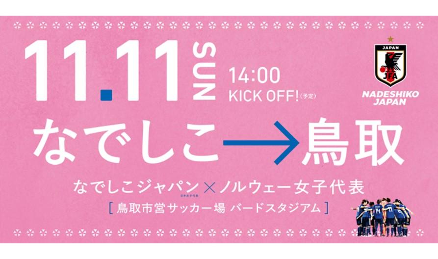 🌸11/11(日)なでしこジャパンvsノルウェー女子代表 国際親善試合