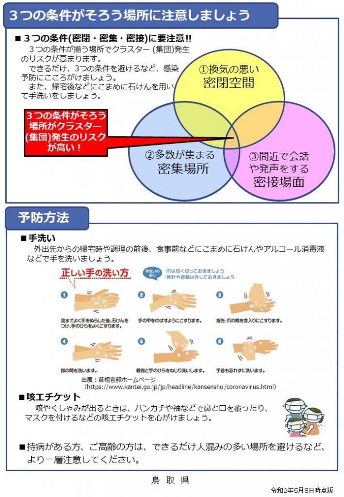 鳥取 県 コロナ ウィルス